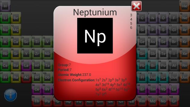 Periodic table apk download free education app for android periodic table apk screenshot urtaz Image collections