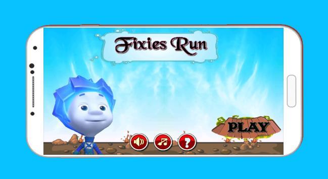 Fixies Run poster