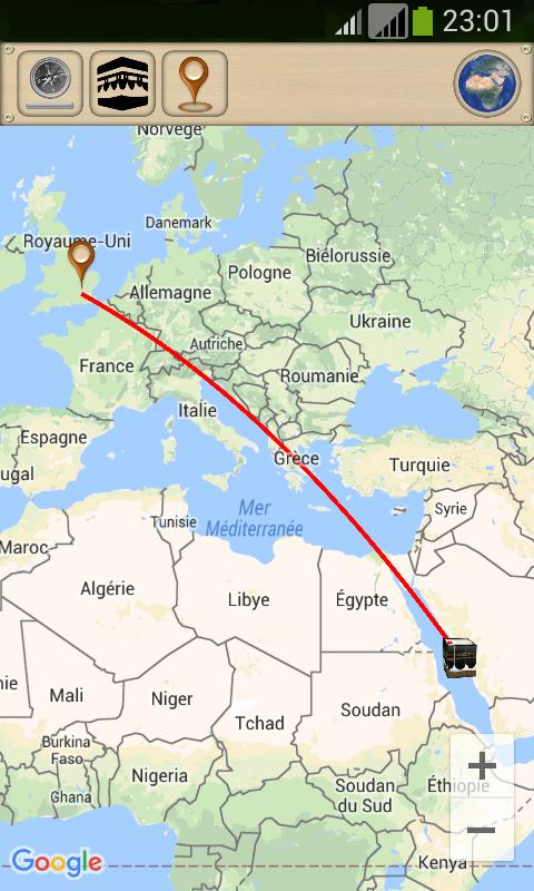 Qibla GPS: Qibla direction with GPS for Android - APK Download on