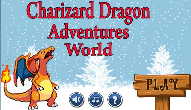 Charizard Dragon Adventures World poster
