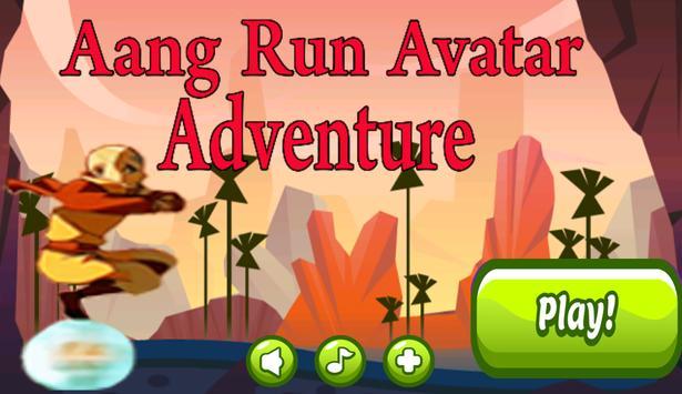 Aang Run Avatar Adventure poster