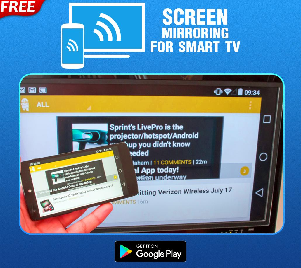 Screen Mirroring On Ipad (Cast To Smart TV) for Android
