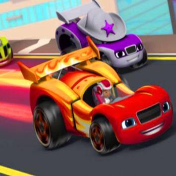 Dash Blazing Racing poster