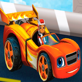 Racing Blaze And monster Machines icon