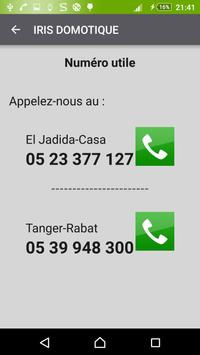 IRIS DOMOTIQUE Maroc apk screenshot