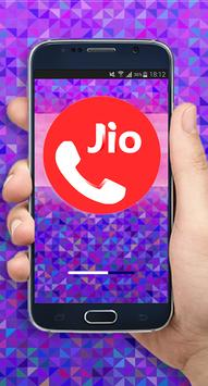 Guide For Jio4gvoice Free Calls - Messages Tips poster