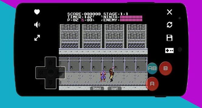 Nes Emulator : Classic games 2018 screenshot 4