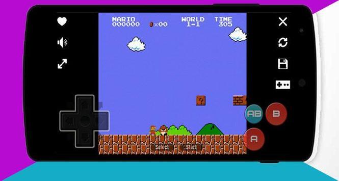 Nes Emulator : Classic games 2018 screenshot 5