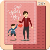 Father's Day Frame 2017 icon
