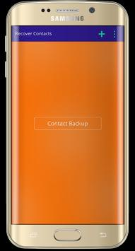 Recover All Deleted Contacts poster