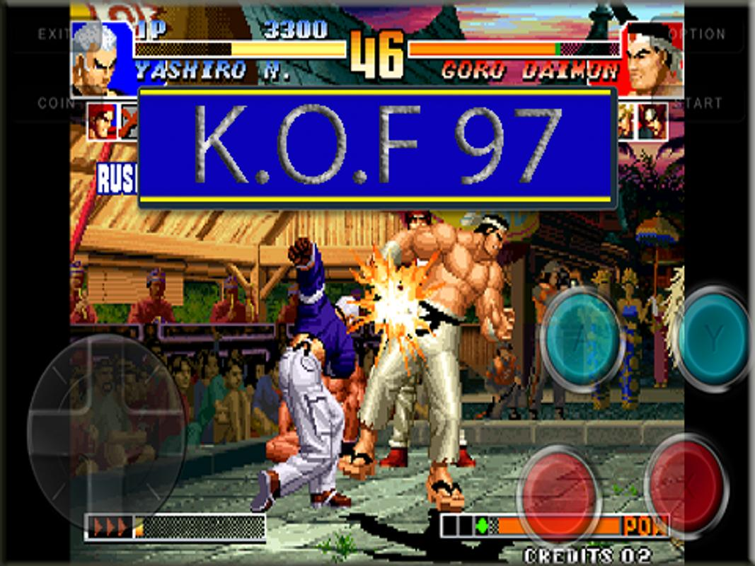 the king of fighters 97 apk mod