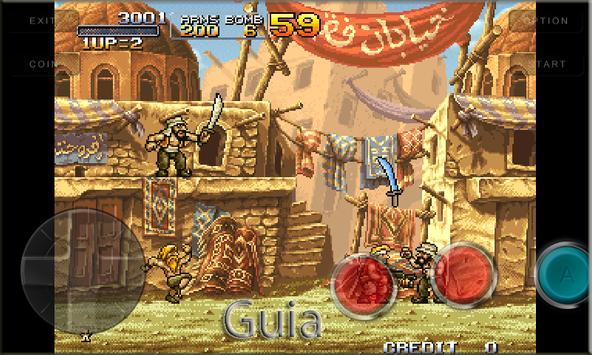 Guia Metal Slug 1 and 2 poster