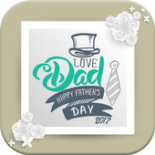Happy Father's Day 2017 [FRAMES] icon