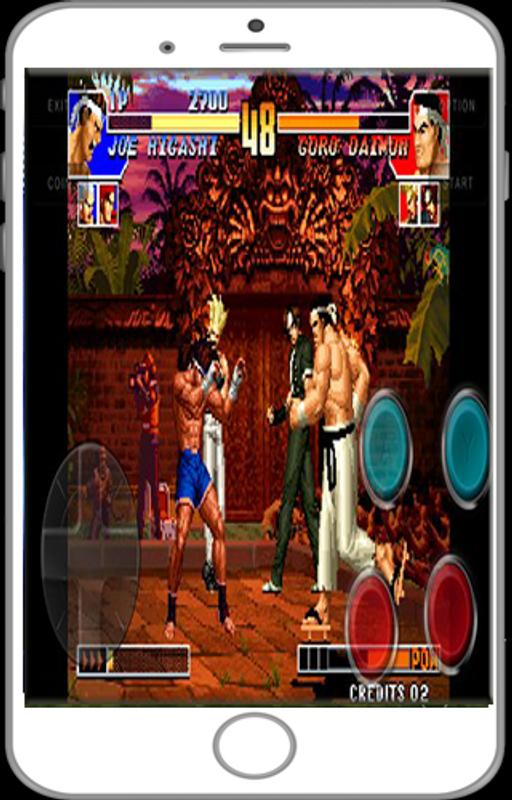 king of fighters 98 apk data revdl