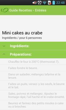 Recipe Guide - INPUTS apk screenshot