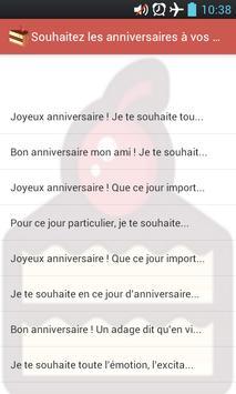 Birthday wishes apk screenshot