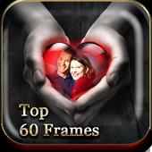 top Love hearts Photo Frames icon