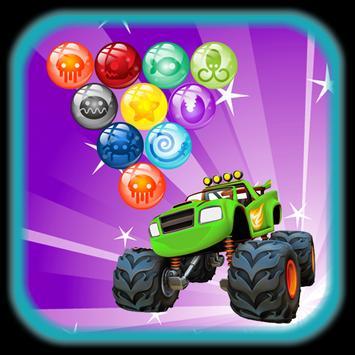 Monster Bubble Blaze apk screenshot