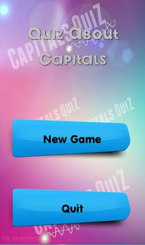 Quiz About Capitals poster