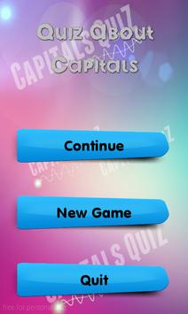 Quiz About Capitals screenshot 1