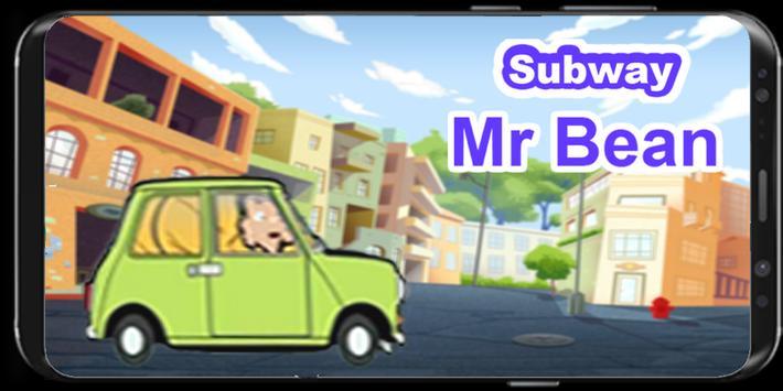 Subway Mr-Bean Car new poster
