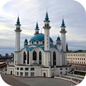 The mosque adan icon
