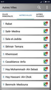 Plaque d'immatriculation Maroc screenshot 1