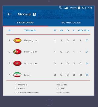 كأس العالم روسيا 2018 تصوير الشاشة 9