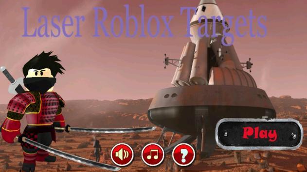Laser Roblox Targets screenshot 1