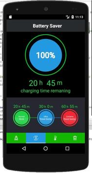 Battery Care - battery saver and booster screenshot 1