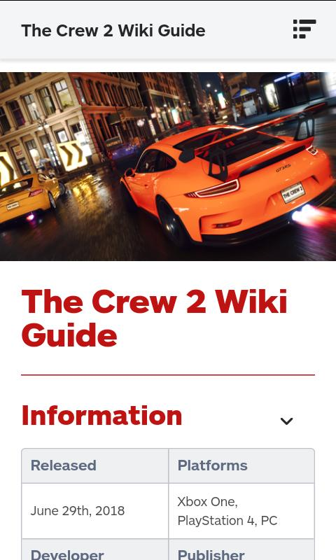 The Crew 2 Guide for Android - APK Download