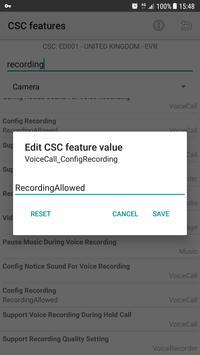 CSC Feature Expert for Samsung screenshot 3