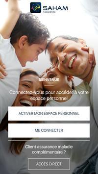 SAHAM Assurance Maroc poster