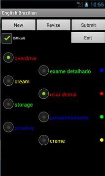 English Brazilian Tutor screenshot 1