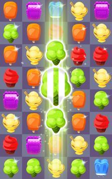Cream Crush Match 3 apk screenshot