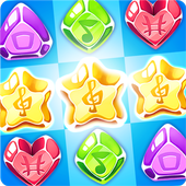 Hard Rock Puzzle Match icon