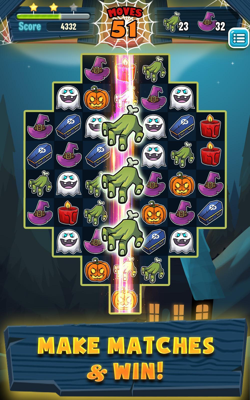 Halloween Match 3 for Android - APK Download