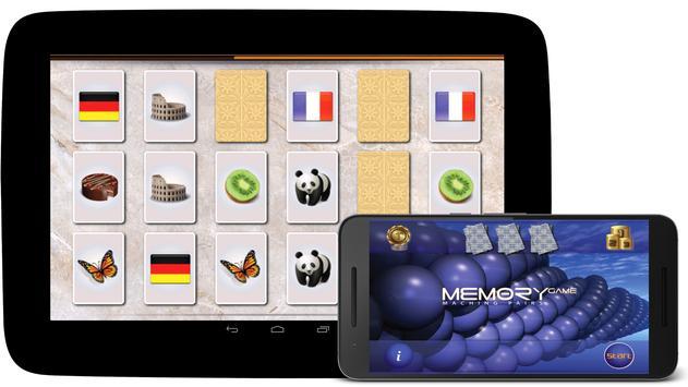 메모리 게임 포스터