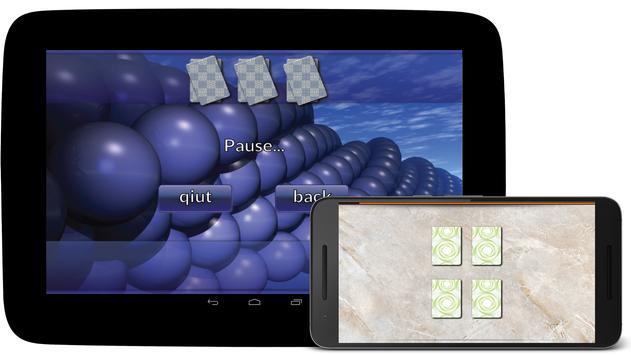 Memory match game screenshot 2