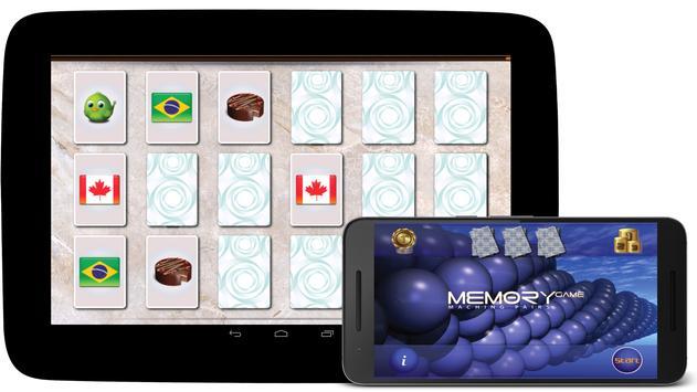 Juego de memoria captura de pantalla 4