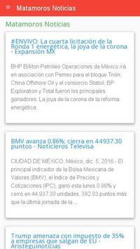 Noticias Matamoros apk screenshot