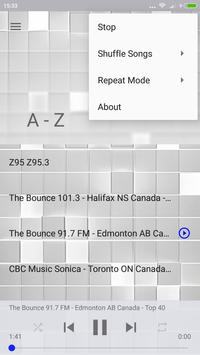 Canada Radio Music from Ottawa with love apk screenshot