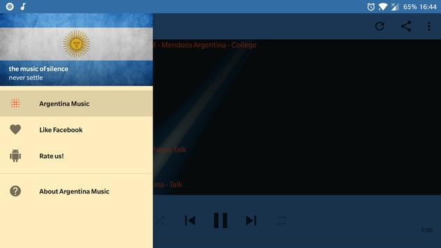 Argentina Music Online screenshot 10