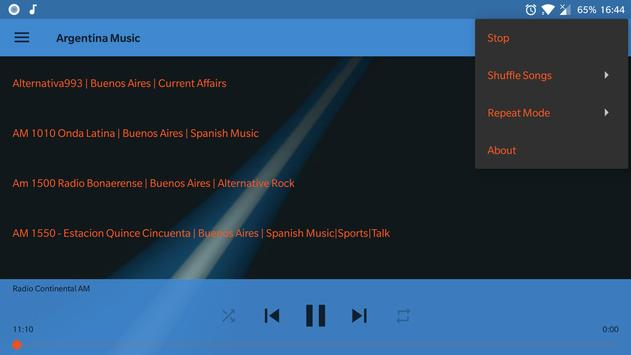 Argentina Music Online screenshot 11