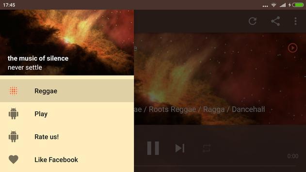 Reggae Radio Music with marley Roots apk screenshot