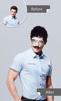 Hair Changer:Mustache for Man apk screenshot