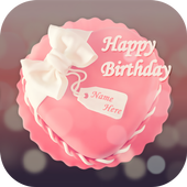 Cake with Name and Photo icon