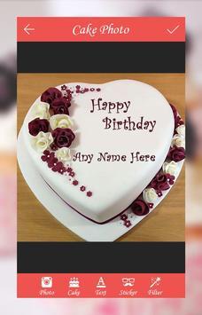 Cake with Name and Photo apk screenshot