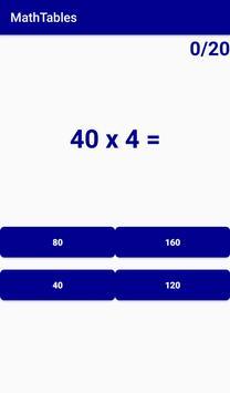 MathTables screenshot 6