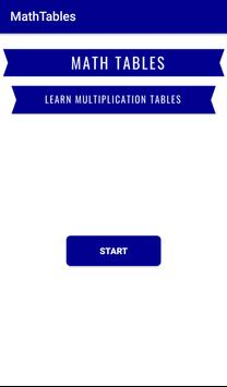 MathTables poster